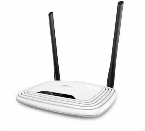 TP-Link N300 Wireless Extender, Wi-Fi Router - 2 x 5dBi High Power Antennas, Supports Access Point, WISP, Up to 300Mbps (TL-WR841N)