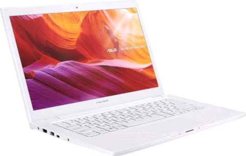 2019 ASUS ImagineBook MJ401TA Laptop Computer Intel Core m3-8100Y up to 3.4GHz 4GB Memory, 128GB SSD 14 FHD, Intel UHD Graphics 615 802.11AC WiFi, USB Type-C, HDMI, Textured White Windows 10