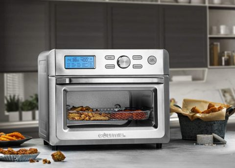 Gourmia TO5712TA-UL electric Air Fryer Oven, 16, silver