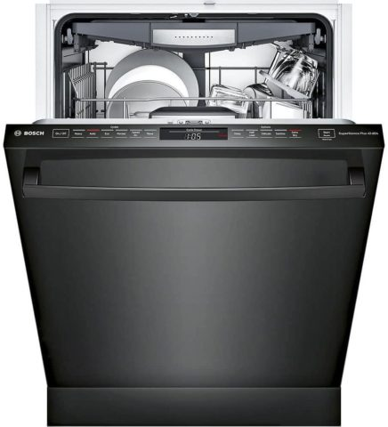 Bosch SHXM78W56N 800 Series 24 Built In Fully Integrated Dishwasher with 6 Wash Cycles, in Black