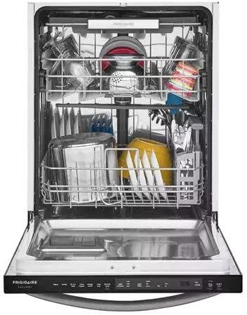 Frigidaire FGID2479SD 24 Inch Built In Dishwasher with 7 Wash Cycles, 14 Place Settings, Quick Wash, NSF Certified, Energy Star Certified, (Black Stainless Steel)