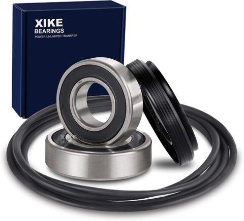 XiKe 4036ER2003A, 4036ER4001C, 4280FR4048C and 4280FR4048K Front Load Washer Tub Bearing & Seal Kit Rotate Quiet and Durable, Replacement for LG and Kenmore Etc.