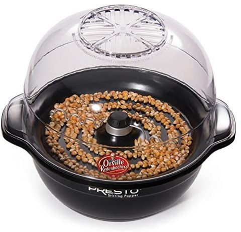 Presto 5204 Orville Redenbacher's Stirring Popper, Black, One Size